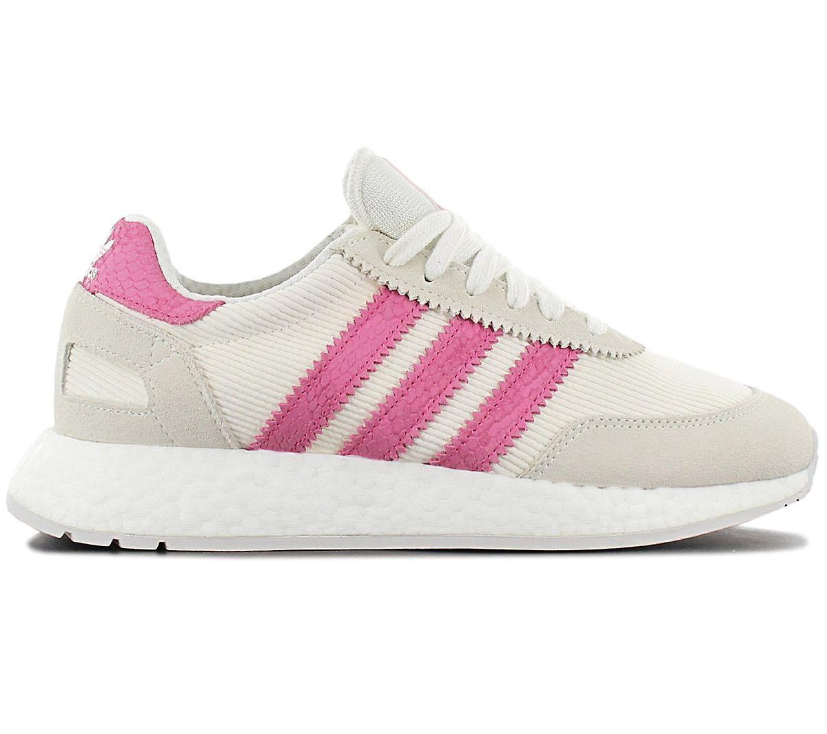 adidas Originals Iniki I-5923 W Boost - Damen Schuhe Beige-Rosa D96618 Sneakers Sportschuhe pCugM