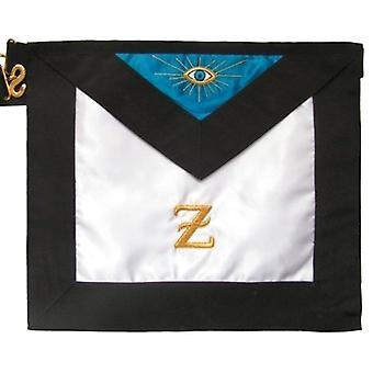 Masonic scottish rite satin masonic apron - aasr - 4th degree