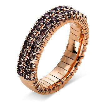 Diamond Ring Ring - 18K 750/- Red Gold - 0.85 ct. - 1N707R859 - Ring width: 59