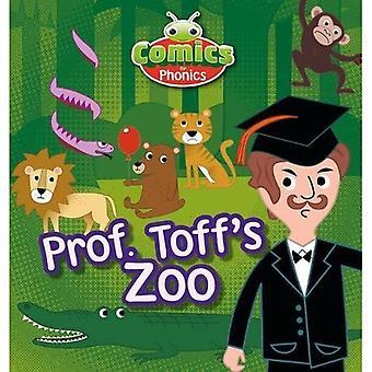 Sett 13 Blå A Prof. Toff's Zoo (BUG CLUB)