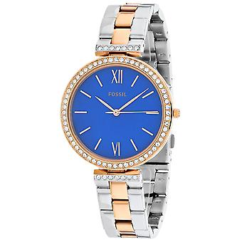 Fossil Women's Bertha Madeline Blue Dial Watch - ES4640