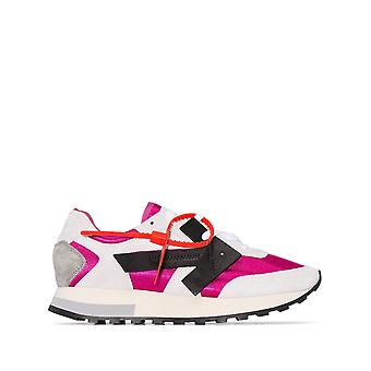 Off-white Ezcr002008 Women's Multicolor Fabric Sneakers