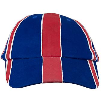 Unisex fit union jack british flag baseball cap