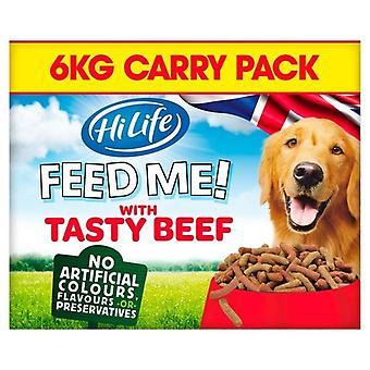 HiLife Moist Beef/Cheese Dog Food