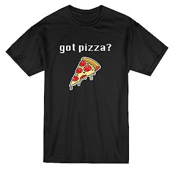 Hast du Pizza? Grafik Herren T-shirt