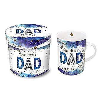 Nigel Quiney Publications The Best Dad Mug In Gift Box