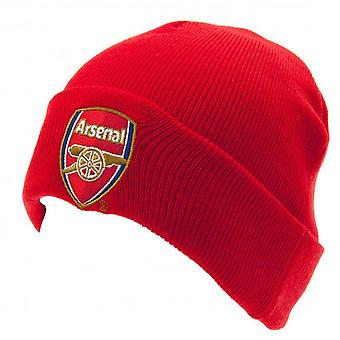 Official licensed arsenal football club ski hat beanie red colour