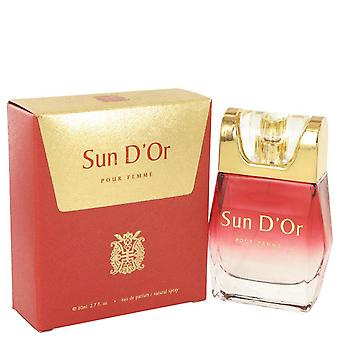 Sun D'or Eau De Parfum Spray By YZY Perfume 2.7 oz Eau De Parfum Spray
