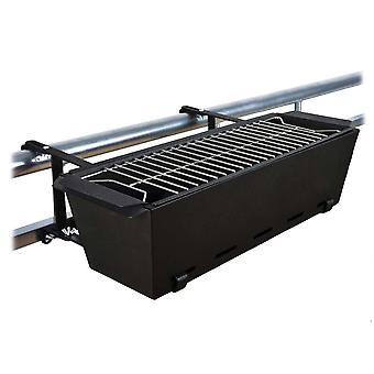 Charcoal grill for balcony - 57 x 20 cm
