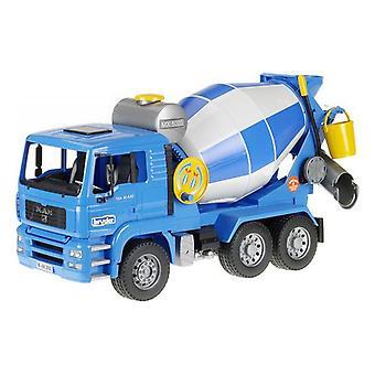 Concrete Mixer Lorry Man Tga Bruder Blue