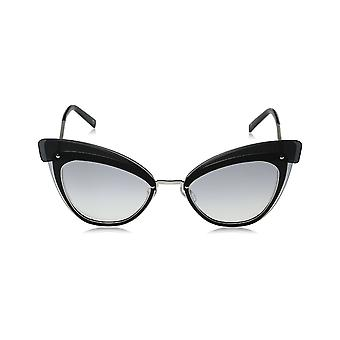 Marc Jacobs Marc 100/S Palladium/Grey Ladies Sunglasses - Palladium