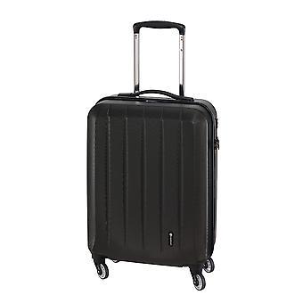 Controleren. IN Cork Handbagage Trolley S, 4 wielen, 55 cm, 30 L, Zwart