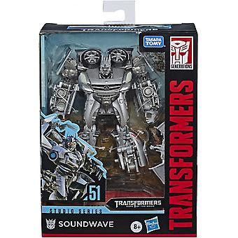 Transformers Soundwave Deluxe Tank Studio Series Figure