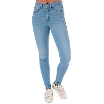 Women's Only Royal High Skinny Jeans in Blue