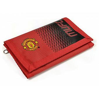 Manchester United FC Official Football Fade Design Wallet