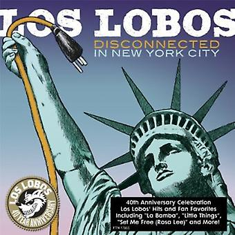 Los Lobos - Disconnected in New York City [CD] USA import