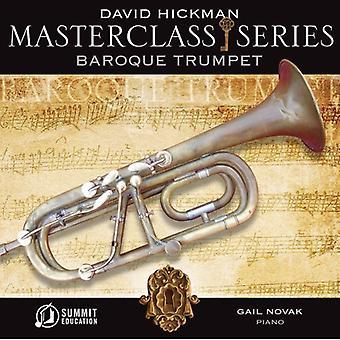 David Hickman - Masterclass serie: Barok trompet [CD] USA import