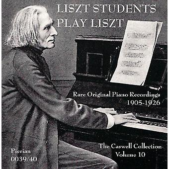 F. Liszt - Liszt's Students Play Liszt [CD] USA import