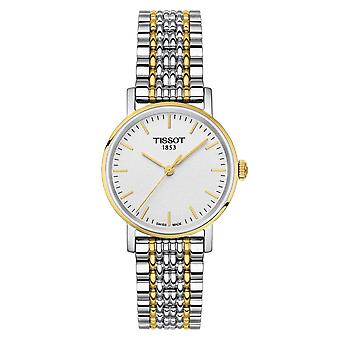 Tissot T109.210.22.031.00 T-Classic Everytime White Dial  Ladies Watch
