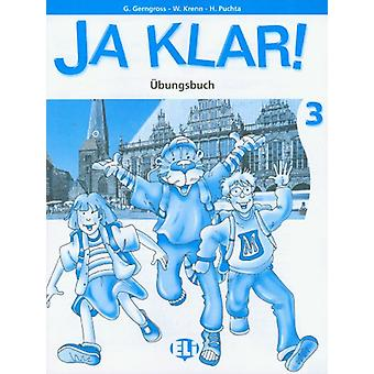 Ja Klar! - Activity book 3 by G Gerngross - 9788881489985 Book