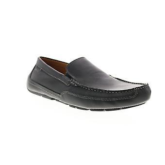 Clarks Ashmont Schritt Herren schwarz Loafers & Slip Ons Mokassin Schuhe
