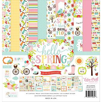 Echo Park Hello Spring 12x12 Inch Collection Kit