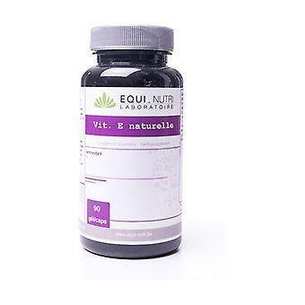 Natural Vitamin E 90 capsules