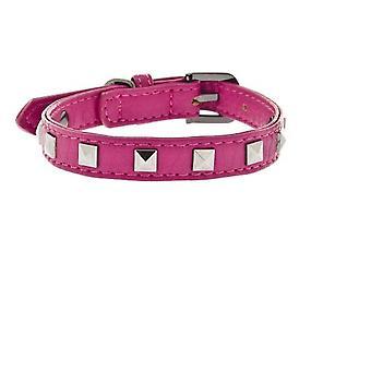 Ferribiella Leather Spikes Collar+Leash 1,5X32C
