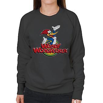 Woody Woodpecker Classic Logo Women's Sweatshirt
