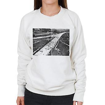 Motorsport Images Brooklands Aerial View 1936 Women's Sweatshirt