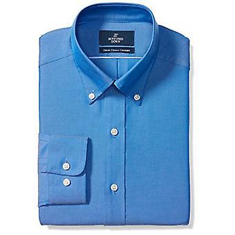 BUTTONED DOWN Men's Classic Fit Button-Collar Solide nicht-Eisen Kleid Shirt (Keine ...