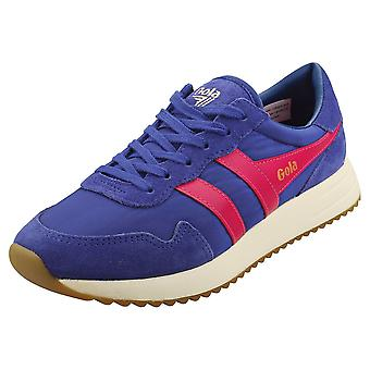 Gola Vancouver Naisten Muoti Trainers Blue Pink