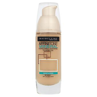 Maybelline Affinitone Mineral Foundation SPF18 30ml - Choose Shade