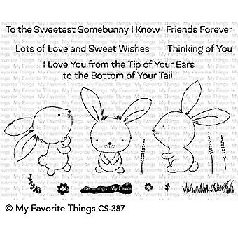 Mis cosas favoritas Sweetest Somebunny Clear Stamps