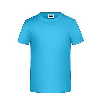 James och Nicholson Childrens pojkar Basic T-Shirt