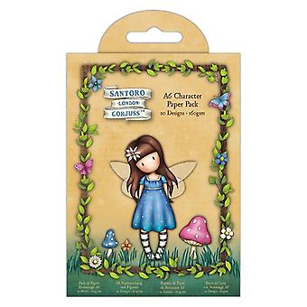 Gorjuss Faerie Friends A6 Character Paper Pack