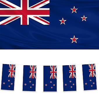 Nieuw-Zeelandse vlag en bunting-pack