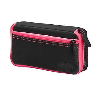 36-0700-12, Casemaster Plazma Nero con cassa dardo rifinitura rosa