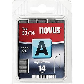 Type 53 fine wire staples 1000 pc(s) Novus 042-0359 Clip type 53/14 Dimensions (L x W) 14 mm x 11.3 mm