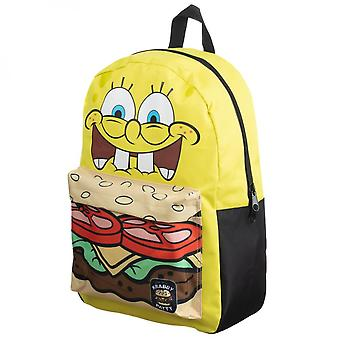 SpongeBob SquarePants Crabby Patty Mixblock Backpack