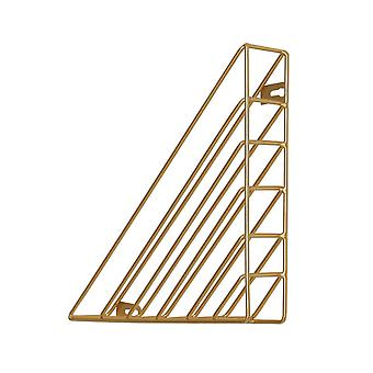 Creative Wall-mounted Iron Storage Racks Home Decoration Gold