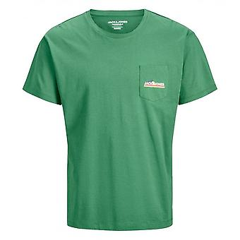 Jack & Jones Cleever Pocket Tee (groen/spar)