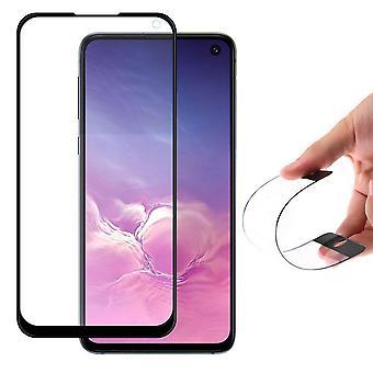 Heltäckande S10 Lite/Note 10 Lite/A71 Flex Nano Härdat Glas Hybrid Skärmskydd