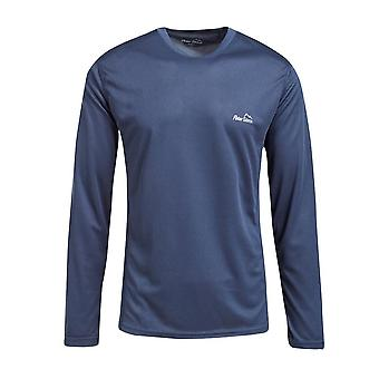Peter Storm Men's Balance Long Sleeve T-Shirt Blue