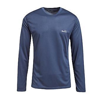 Peter Storm Men's Balance Langarm T-Shirt blau