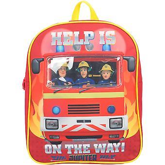 Fireman Sam HECTOR Novelty PV Backpack