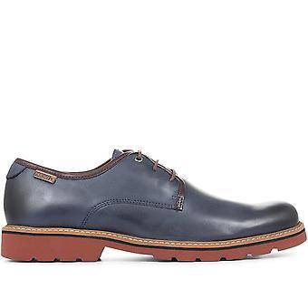 Pikolinos Mens Bilbao Casual Leder Derby Schuh