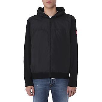 Canada Goose 6868m61 Men's Black Wool Outerwear Jacket