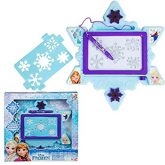 Disney Frozen Drawing Board Magnetic Drawing Plate With Pencil Stamps And Stencil