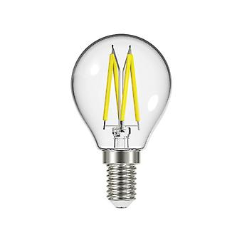 Energizer® LED SES (E14) Golf Filament Non-Dimmable Bulb, Warm White 470 lm 4W